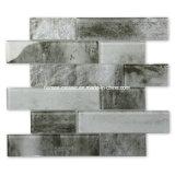 La conception de l'Europe populaire Inkjet ciment vitré Look carrelage en mosaïque de verre