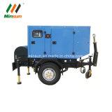 Generatore diesel con le grandi rotelle