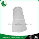 100 Mícron agulha de poliéster solvente líquido saco de filtro