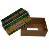 고품질을%s 가진 인쇄한 판지에 의하여 주름을 잡은 바나나 상자를 주문 설계하십시오