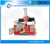 5 fresadora CNC de eixos de espuma para /madeira /Plastic /EPS Máquina Router CNC de madeira