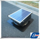 20W 9inch Roof Mounted Solar Adjustable Attic Fan