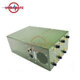 Emittente di disturbo di Manpack per lo stampo di GSM/2g/3G/4glte/GPS/Lojack per protezione Anti-Terror di VIP; Emittente di disturbo del walkie-talkie di GPS/Glonass/Galileo L1-L5