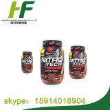 Muscletech, Nitro Tech, 100 % de lactosérum, Double chocolat riche d'or, 5,53 lbs (2,51 kg)
