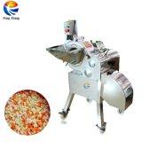 自動カボチャいちごのマンゴのモモのパパイヤの立方体の切断のさいの目に切る機械