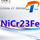 De nikkel-Basis van Nicr23fe de Pijp van de Plaat van de Staaf van de Legering in Uitstekende Kwaliteit en Prijs