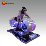 Simulación vía real loco coche eléctrico de velocidad de la Realidad Virtual simulador de conducción de motocicletas