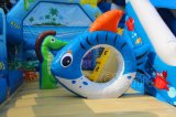 Comercial de 2018 Seaworld Parque de Atracciones inflables Jumping Bouncer con la diapositiva CHB819