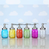 Plastikpumpen-Kappen-Glasmaurer-Glas-Großverkauf der Qualitäts-480ml