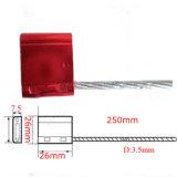 Hohe Sicherheits-Kabel-Verschluss-Behälter-Zeichenkette-Marken-Wegwerfdichtungen (KD-319)