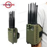 Mais novo bloqueio portáteis para redes CDMA/GSM/3G UMTS/4glte Telemóvel Bluetooth/WiFi + GPS ++Lojack+R/C433/315/868MHz