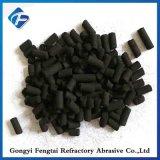 Zwarte Zuilvormige Geactiveerde Koolstof voor het Verwijderen van het Gas van de Waterstof Sulfured