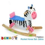 Schwingpferd stellte ein (Zebra-Art)
