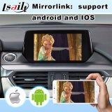 Android Market 6.0 Sistema de Navegação multimédia automóvel Mazda 6 Sedan com o botão e volante Contorl