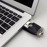 Custom кожаный чехол из натуральной кожи, 16 ГБ USB Memory Stick™, USB флэш-накопитель USB из натуральной кожи