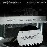 Blad 54 X 1.6mm van de Lintzaag van Fuweisi M42 M51 BimetaalVoor de Scherpe Staaf van het Staal