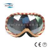 Silberner Verspiegelungs-BlendschutzSnowboarding Eyewear