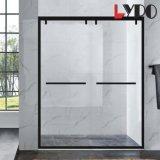 2018 новый дизайн современных матовый черный санитарных продовольственный закаленное стекло душ в ванной комнате корпуса