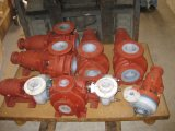 F46 с насечками химического насоса для высокой кислот и щелочей (IHF)