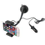 Teléfono inteligente de llamadas con manos libres Bluetooth el transmisor de FM con cargador de teléfono