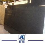 中国のカバーのための自然で黒い真珠の花こう岩かフロアーリングまたはまたはタイル舗装するか、または平板の台所カウンタートップまたは虚栄心の上または建築材
