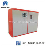Dispositivo de aquecimento da indução de freqüência média de tarugos de aço Barra Redonda