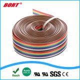 Collegare elettrico Braided di illuminazione del tessuto del cavo del cavo decorativo di RGB