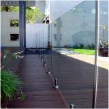 Сделано в Китае индивидуальные шаровой кран из закаленного стекла на поручне