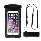 Wasserdichter Telefon-Beutel-trockener Beutel-Armbinde-Allgemeinhinkasten und 3.5mm Kopfhörer Jack für Smartphones