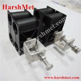 Le collier du câble d'alimentation, le convoyeur collier de serrage, type à trou double Pince de câble