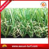 Erba artificiale residenziale di resistenza UV per l'abbellimento del giardino