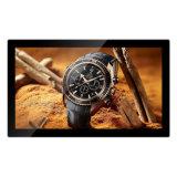 Montaje en pared de 18,5 pulgadas HD Digital Photo Frame Ad Reproductor para tiendas tiendas