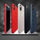 Il nuovo coperchio del telefono mobile di stile TPU della banda alla moda indietro mette per il iPhone X