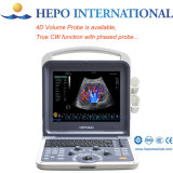 Clinic Portable 3D 4D ultra-sonografia Doppler CW