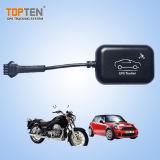El rastreador portátil para el coche/moto pequeña alarma GPS Water-Proof Mt05-ju
