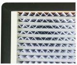 H13 фильтра HEPA сепаратора с деревянной рамы в чистой комнате