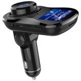 Transmisor FM Coche Bluetooth con cargador de coche Bluetooth manos libres