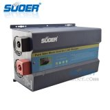 Baixa Frequência Suoer 12/24/48V 50A 3KW onda senoidal pura energia solar controlador de carga PWM Inversor híbrido