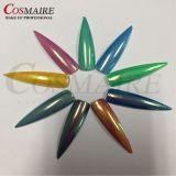 Het Pigment van de Spiegel van de Regenboog van het Poeder van het Effect van de Meermin van de dageraad voor Spijker