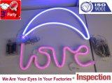 Cinco por debajo del tubo de plástico Walllight LED de control de calidad y servicio de inspección y control de calidad