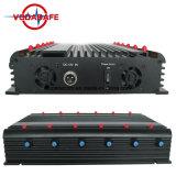 Высокая мощность для настольных ПК GPS + сотовый телефон + кражи Lojack он отправляет сигнал в диапазонах 315/433/868 Мгц он отправляет сигнал/мини-Jammer valve/перепускной сигнала дистанционного управления
