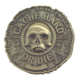記念品のためのアンチック仕上の金属の挑戦硬貨