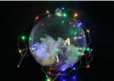 Balle acrylique de gros de décoration de Noël