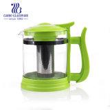 L'eau chaude pot en verre résistant à la chaleur de thé Go1134-1