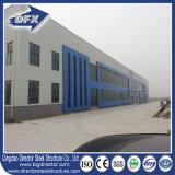 Taller incombustible de acero de la estructura con los paneles de emparedado de la fibra de vidrio