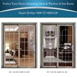 Раздвижные двери конкурентоспособной цены алюминиевые с двойной застеклять