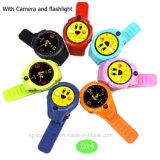 Kind/Kinder des Pedometer-PAS GPS-Verfolger-Uhr mit Taschenlampe D14
