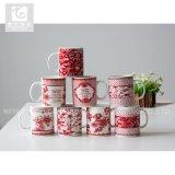 12oz 커피잔을 인쇄하는 중국 도매 공장 빨간색