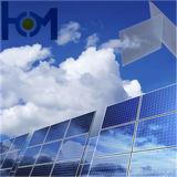 3.2mm hanno indurito il vetro ultra chiaro basso del ferro per il comitato solare