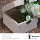 Hongdao caja de embalaje de madera de encargo de la joyería con precio barato Wholesale_L